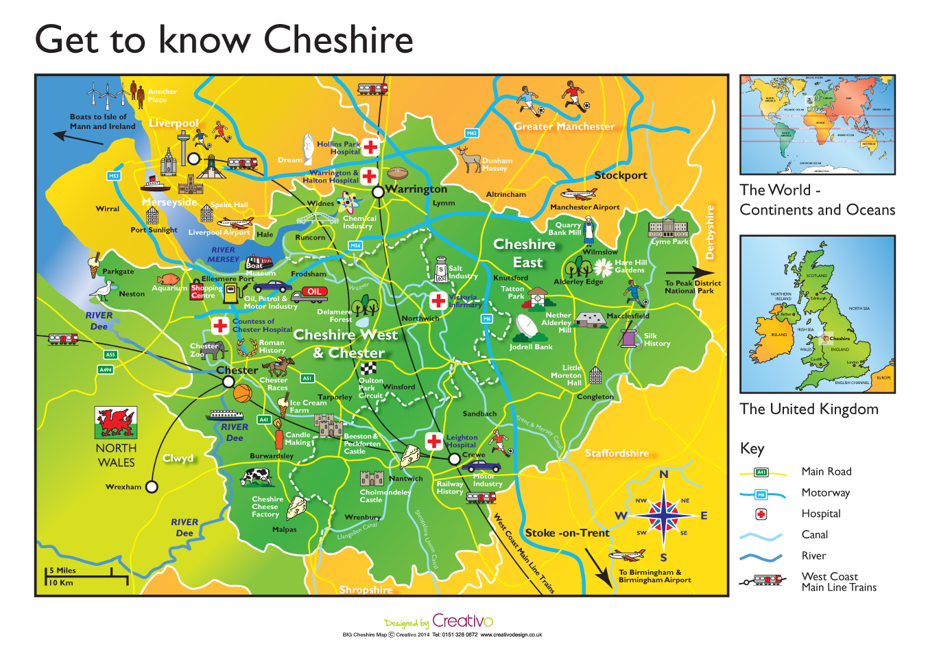 Map Of England For Ks1.Cheshire Map Schools Geography Cheshire Ks1 Ks2 Creativo